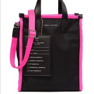 Marc Jacobs Neon Pink Tote